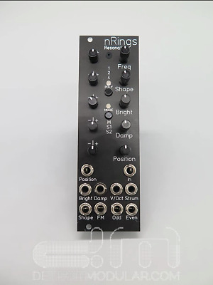Michigan Synth Works Nanorings Negro : Eurorack: Nuevo Detroit Modular]
