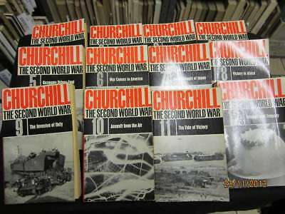 The Second World War: Volumes 1 to 12, Winston S Churchill, 1964, Cassell, Good