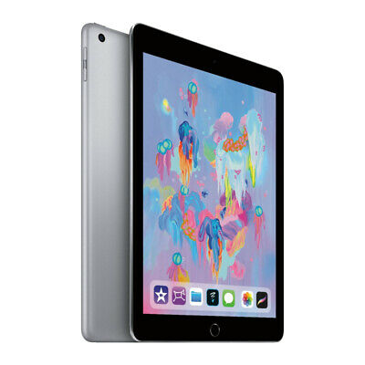 "NUEVO Apple iPad 9.7"" 128GB Wi-Fi Version - Space Grey (2018 Version)"