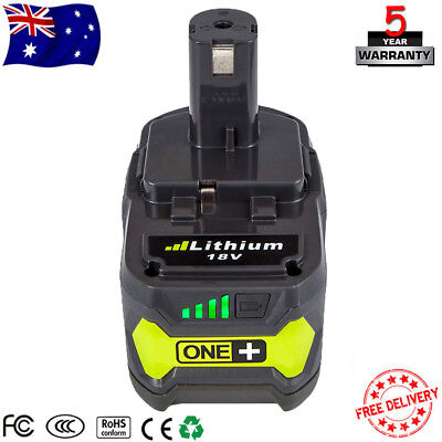 18V One+ Plus P108 Lithium Battery for Ryobi P104 P105 P102 P103 P107 P109 P780