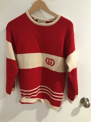 f6b4531482c 100% AUTHENTIC GUCCI Wool Sweater red Size 40 -  465.00