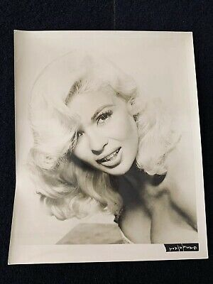 Jayne Mansfield Original Publicity Photo Vintage 8x10 Picture Head Shot Portrait
