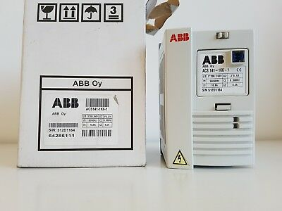 Abb Acs141-1K6-1 Inverter 1.0 Hp / 0.75 Kw 1Ph 230V