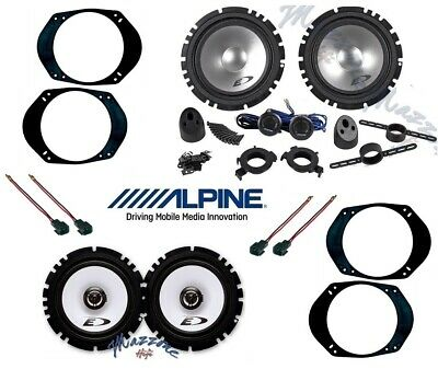 ALPINE Kit 6 casse per FORD FOCUS >2005 con ADATTATORI E SUPPORTI PHONOCAR