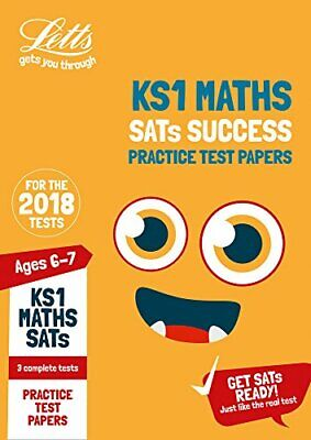 KS1 Maths SATs Practice Test Papers: 2018 tests (Letts KS1 SATs ... by Letts KS1