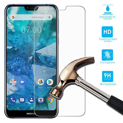 Tempered Glass Screen Protector Film For Nokia 3.1 5.1 6.1 Plus 7 7.1 8 Sirocco