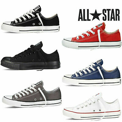 Mens Womens Classic Chuck Taylor Low Trainer Sneaker All Stars OX NEW size Shoes