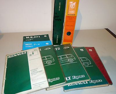 workshop manual renault espace mechanics body circuit diagram stand 1984
