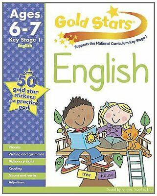 Gold Stars KS1 English Workbook Age 6-7(Gold Stars Workbook Packs) By Gold Star