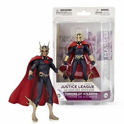 DC OCEAN MASTER ACTION FIGURE #14 Justice League Throne Of Atlantis Official