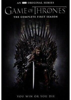 Game Of Thrones: The Complete First Season - 5 DISC SET (2015, DVD New) 8839294