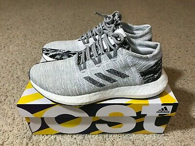 632585a72 UNDEFEATED ADIDAS PURE Boost Go LTD Shift Grey Men s Size 8 Yeezy ...