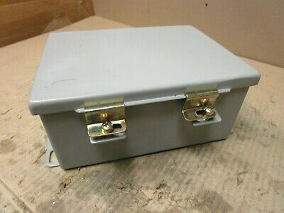 "Rittal Electromate E806Ch 8""X6""X3.5"" Wall Mount Electrical Enclosure Type 12,13"