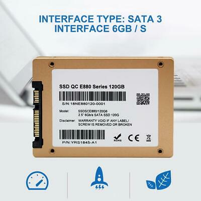 "SSD 60GB 120GB 240GB 2.5""SATA III Solid State Drive 6GB / s For Laptop PC"