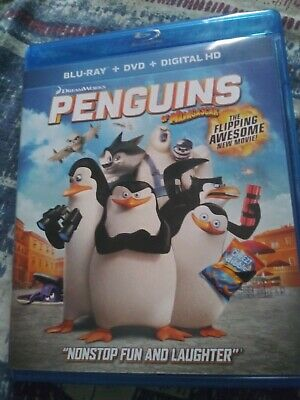 Penguins of Madagascar bluray + DVD