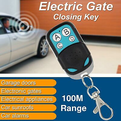 Universal Replacement Garage Door Remote Control Car Gate Cloning Key Fob case