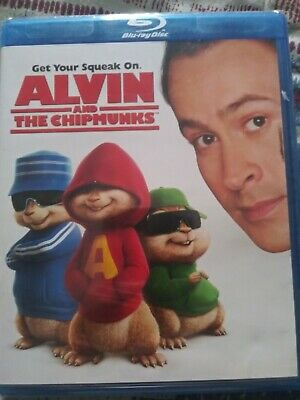 Alvin and the Chipmunks bluray NEW