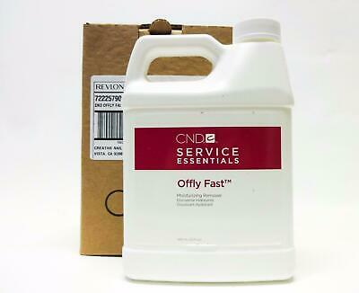 CND Shellac Offly Fast Nourishing Remover - 1 litre 946mL - Gel Soak Off Remover