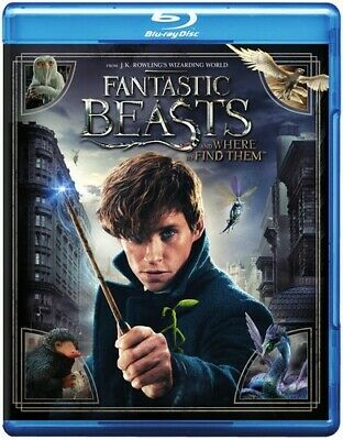 Fantastic Beasts & Where To Find Them (2017, Blu-ray New)