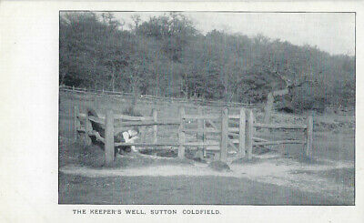 SUTTON COLDFIELD (Warwickshire):The Keeper's Well undivided back
