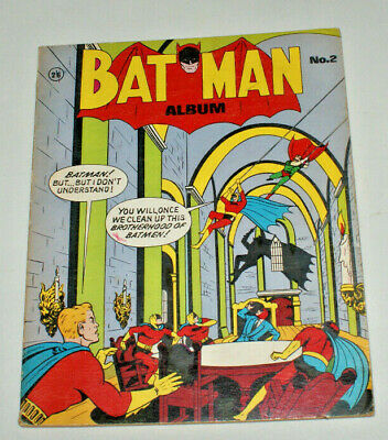 BATMAN ALBUM #2~1960s~MOLDOFF~NATIONAL COMICS