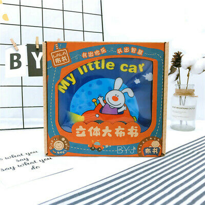Toddlers Toys Cloth Activity Book Multifunctional Baby Early Educational Toys 6A