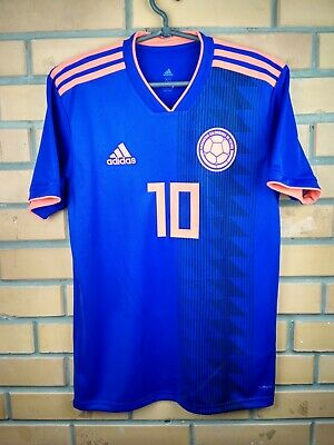 df71a077c Colombia jersey XS 2018 2019 away shirt CW1562 soccer football Adidas