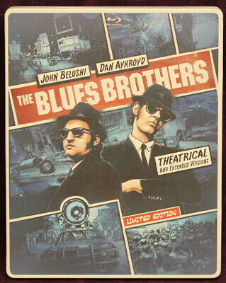 THE BLUES BROTHERS (SteelBook, BluRay/DVD, 2014, 2-Disc Set)