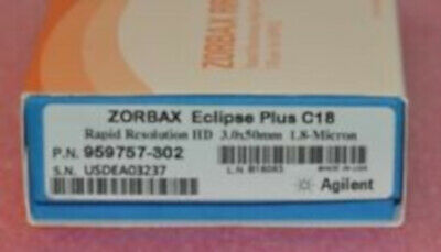 959757-302 Agilent Hplc Column Zorbax Eclipse Plus C18