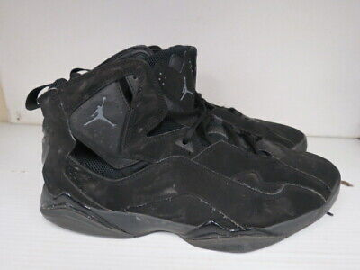 e74f9247970b07 Nike Air Jordan True Flight Black Basketball Shoes Men s Sz 14 342964-013  L860K