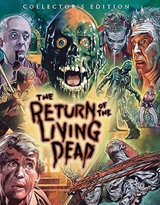 Return Of The Living Dead - 2 DISC SET (2016, Blu-ray New)