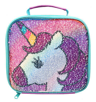 Unicorn Sequin Lunch Bag