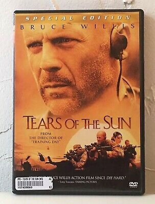 Tears of the Sun - Special Edition DVD - Bruce Willis