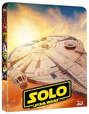 Star Wars - Solo: A Star Wars Story (3D) (Blu-Ray 3D+2 Blu-Ray) (Lt. BLU-RAY NEW