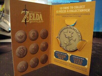 Legend of Zelda Breath of the Wild Collectable Coin Silent Princess Flower