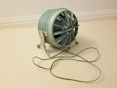 Authentic 1950's 1960's Era Retro Mid Century Modern Westinghouse Floor Fan