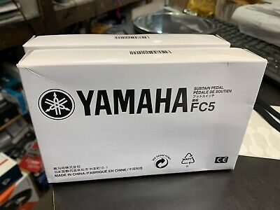 Yamaha FC5 Compact Sustain Pedal for Portable Keyboards black