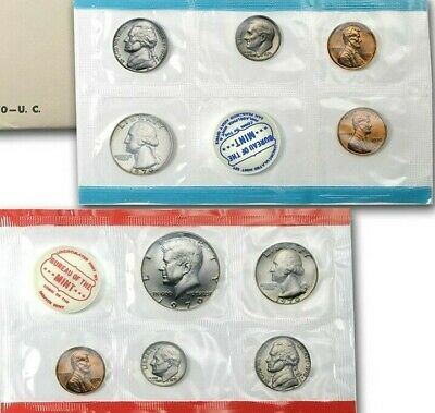 1970 United States Uncirculated Mint Set   Small Date         Mint Cello only