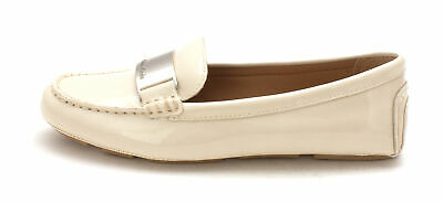ae88aedf071 CALVIN KLEIN WOMENS Lisette Leather Round Toe Loafers