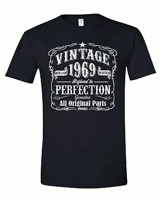 Made In 1969 Vintage Birthday Gifts For Men 50th T Shirt Christmas Gift