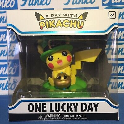 Funko A Day With Pikachu One Lucky Day Vinyl Figure IN HAND SOLD OUT Pokemon NEW