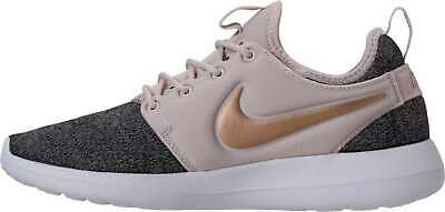 check out 7b813 24ea4 Nike Womens Roshe Two Knit Low Top Lace Up Running Sneaker, Grey, Size 9.5