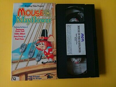 Mouse on the Mayflower (VHS, 1993)OW