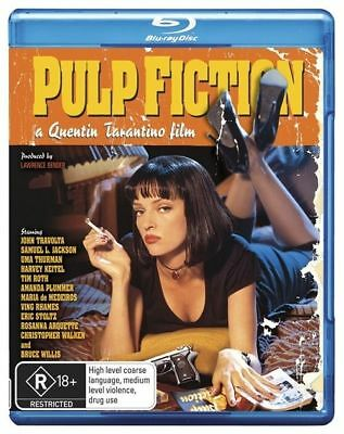 Pulp Fiction (Blu-ray, 2009) NEW AND SEALED BLU RAY