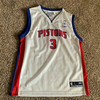 721a8f276cd Vintage Grant Hill #33 Detroit Pistons 90s NBA Champion;