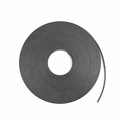 12mm x 1.5mm Adhesive Magnetic Strip Fridge Magnet Flexible Craft Reel Length UK