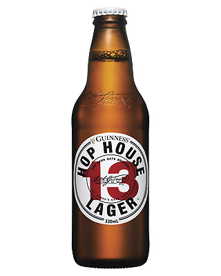 Hop House 13 Lager by Guinness Bottles 330mL Beer case of 24