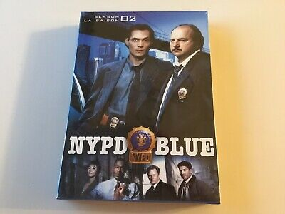 DVD - NYPD Blue - The Complete Second Season 2 Two - NEW