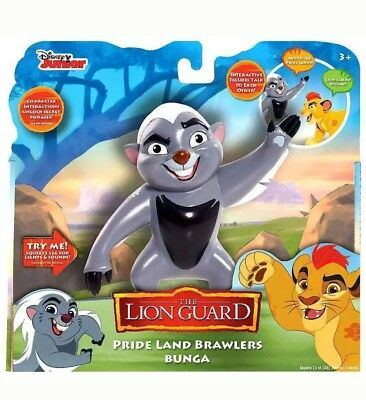 Disney The Lion Guard Pride Land Brawlers Bunga Poseable Figure Interactive NEW