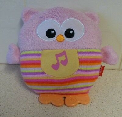 """Fisher Price """"Owl"""" Light Up, Music Baby Toy - Hoots - 2014"""